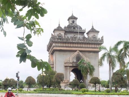 Tak Kalah Dengan Prancis, Laos Juga Punya 'Arc De Triomphe'