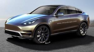 Inikah Desain Crossover Tesla Model Y?