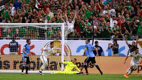 Meksiko Menang Atas Uruguay