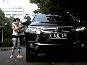 Dian Sastrowardoyo Lebih Suka Nyetir Mobil SUV
