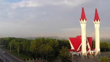 Masjid Cantik Di Rusia, Seperti Bunga Tulip Yang Mekar