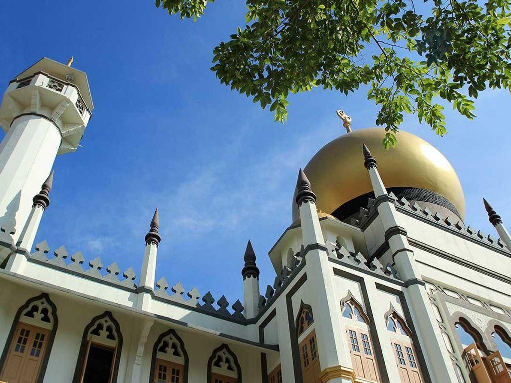 Inilah Salah Satu Masjid Paling Penting di Singapura