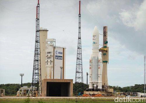 Jadilah Saksi Sejarah, Tonton Peluncuran BRIsat Secara Langsung