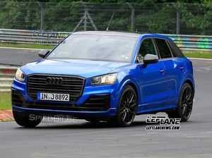SUV Performa Tinggi Audi, Terekam Diuji di Sirkuit