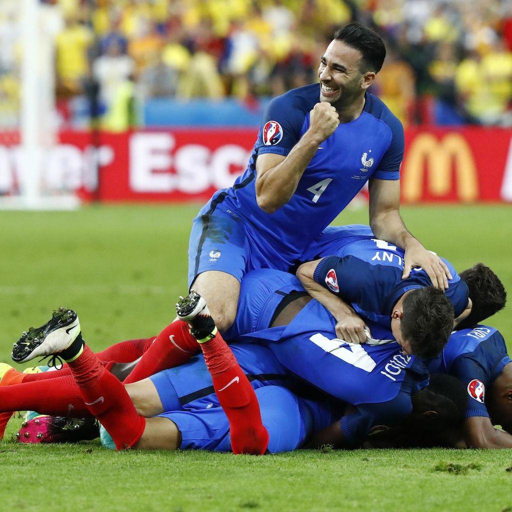 Menanti Hat-trick Prancis di Eropa