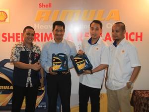 Shell Luncurkan Oli Baru Khusus Mesin Diesel