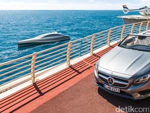 Saat Mercedes-Benz Disulap Menjadi Kapal Pesiar, Begini Hasilnya