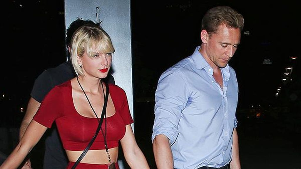 Taylor Swift dan Tom Hiddleston Kembali Pamer Kemesraan di Italia