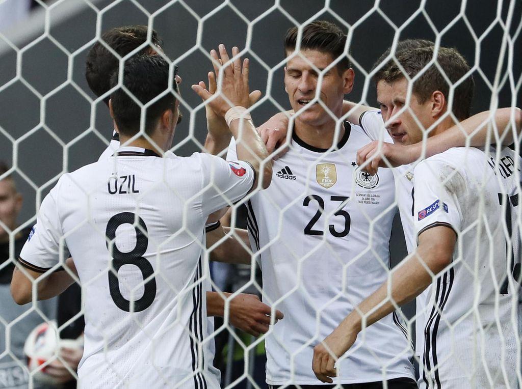 Fleksibilitas Jadi Senjata Jerman di Euro 2016