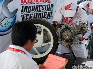 Ukur Keterampilan, Honda Gelar Kompetisi Mekanik dan Service Advisor