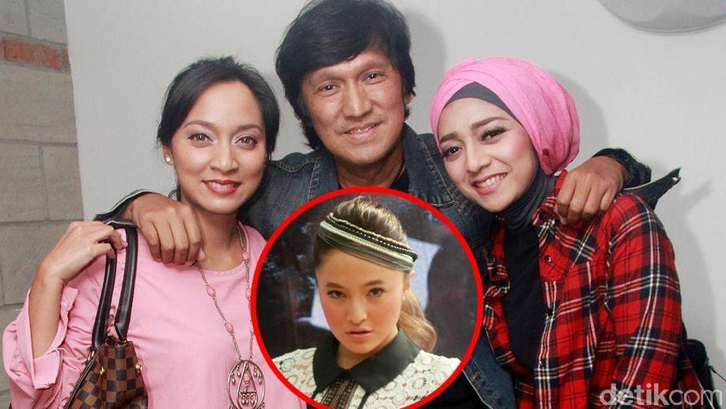 Ikang Fawzi dan Dua Putrinya, Marshanda Tampak 'Fierce'