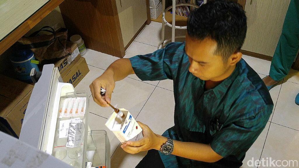 BBPOM Semarang Temukan Vaksin Diduga Palsu di Kota Semarang