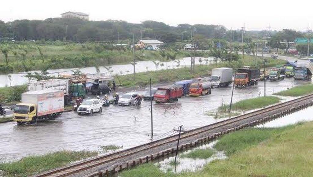 Jalan Nasional Surabaya-Probolinggo Terputus, 52.743 Jiwa Terdampak