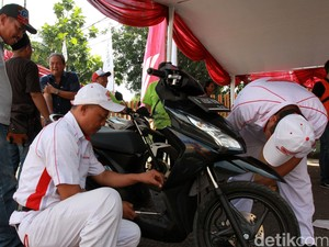 Dampingi Pemudik, Honda Sediakan Bale Santai di 17 Titik