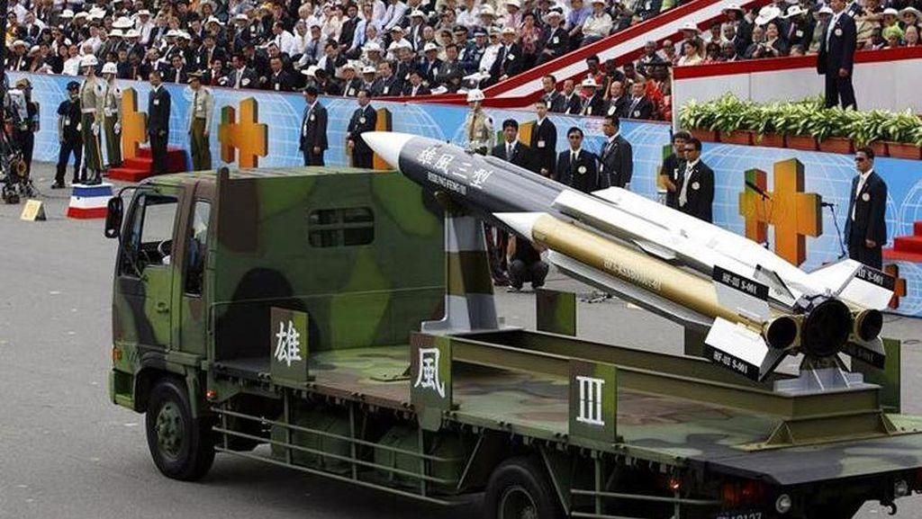 Insiden Peluncuran Rudal Taiwan Bertepatan dengan HUT Partai Komunis China