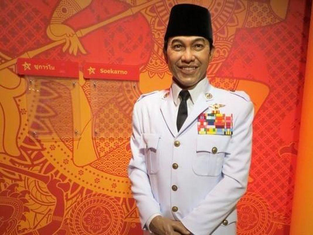 Setelah Anggun, Apa Kabar Patung Soekarno di Madame Tussauds?