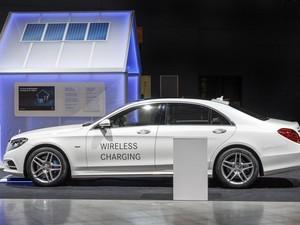 Mobil Hybrid Mercedes-Benz S500e Bisa Dicas Tanpa Kabel