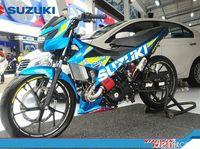Modifikasi Ekstrem ala Suzuki, Mulai Satria Trail dan Turbo Hingga Address Elegant