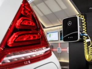 Dengan Wallbox Ini, Cas Baterai Mobil Hybrid Mercy Lebih Cepat