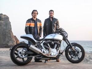 Keanu Reeves Produksi Moge Arch Motorcycle
