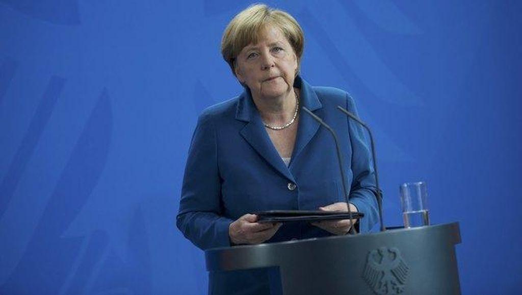 Berduka, Merkel Sebut Penembakan Brutal di Munich Sebagai Malam Horor