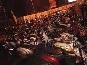 Klub Honda Scoopy Rayakan Ultah Sekaligus Halal bi Halal