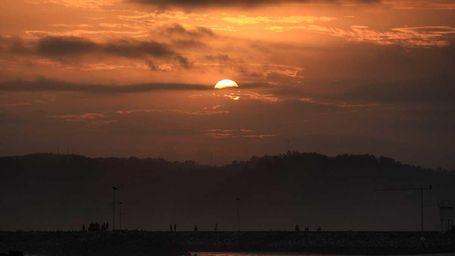 Sunrise Cantik, Bukti Pangandaran Tidak Hilang Pesona