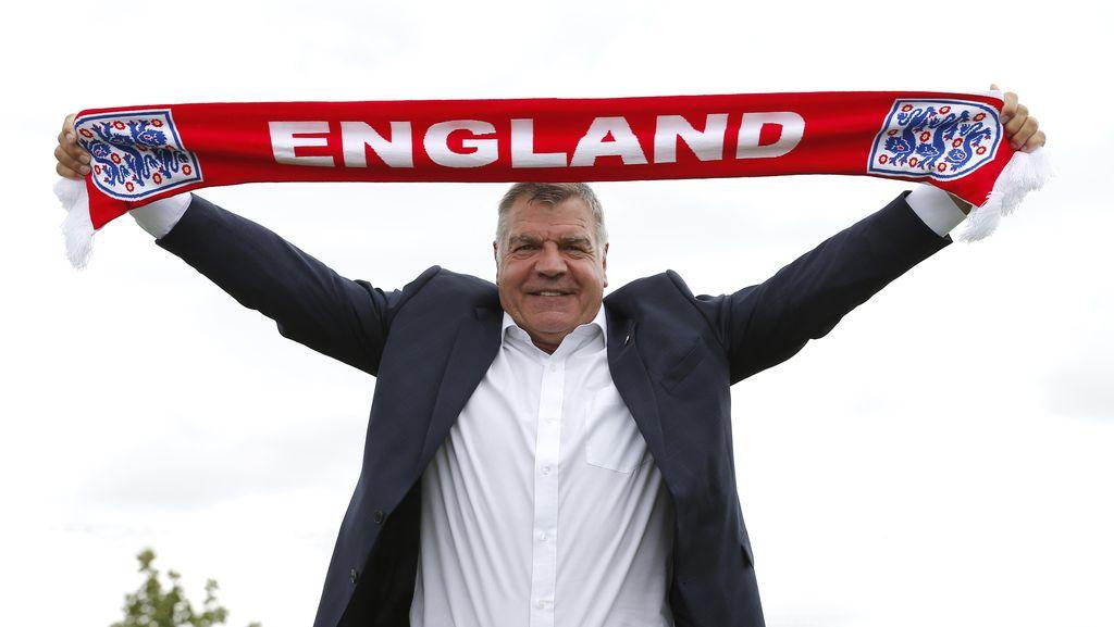 Allardyce Yakin Bisa Atasi Tekanan di Timnas Inggris