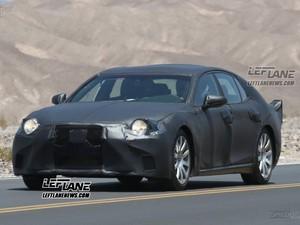 Lexus LS Terbaru Mulai Dites