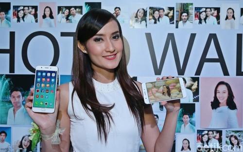 Selfie Maksimal dengan Oppo F1s