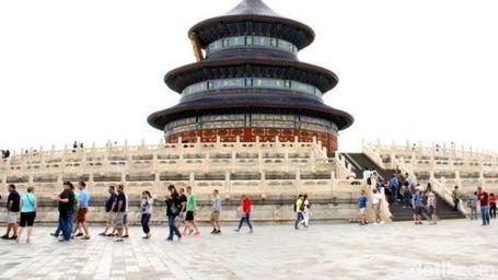 Pintu & Kuil Surga Yang Ada Di Negeri China