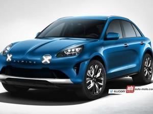 Alpine Siapkan SUV Pesaing Jaguar F-Pace dan Porsche Macan