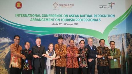 Konferensi Internasional SDM Pariwisata ASEAN Resmi Dibuka Di Jakarta