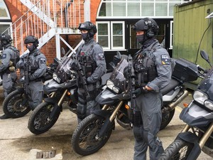 Pasukan Antiteror London Gunakan Motor BMW F800GS