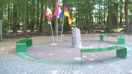 Vaalserberg, Pembatas 3 Negara Eropa Dan Penanda Uniknya