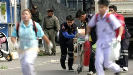 Imbauan KBRI Bangkok Terkait Rangkaian Ledakan Bom Di Thailand