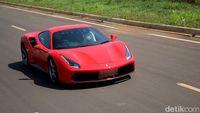 Merasakan Ganasnya Ferrari 488 GTB