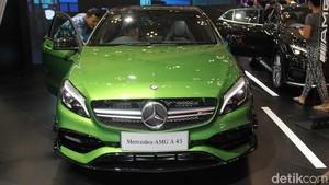 Ini Mercedes-AMG A45 yang Berkelir Hijau