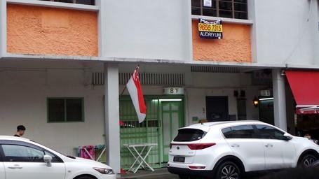 Penampakan Rumah Bordil Di Kawasan Chinatown Singapura