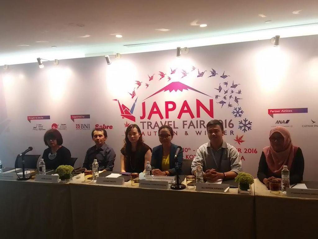 Japan Travel Fair 2016 Targetkan 30 Ribu Pengunjung