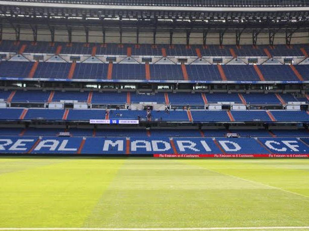 Jelajah Megahnya Stadion Real Madrid di Spanyol