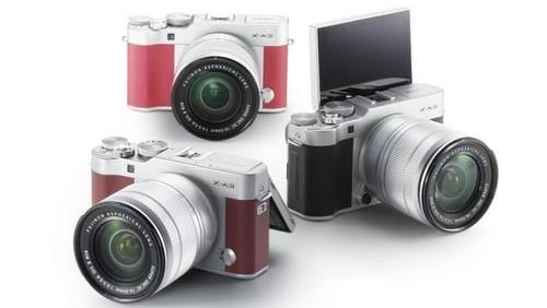 Fujifilm Resmikan Mirrorless X-A3, Banderol Rp 8 Juta