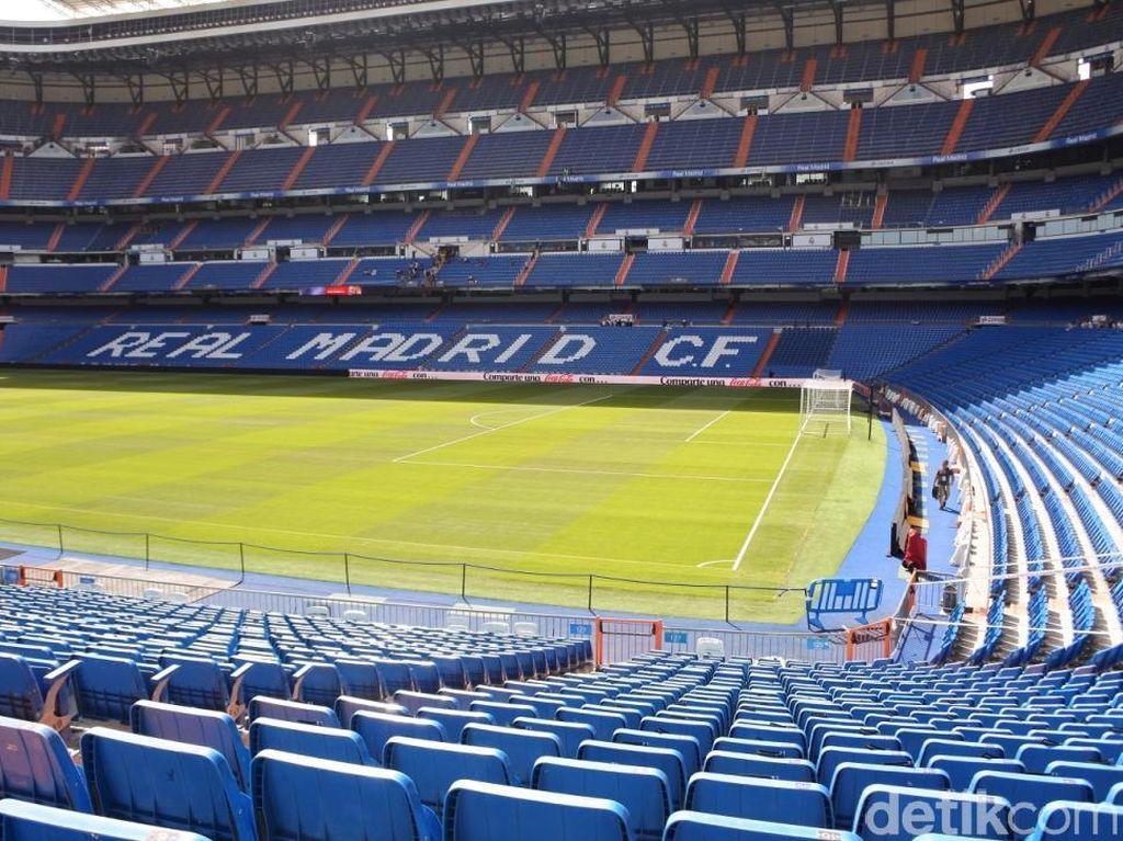 Seperti Ini Kerennya Stadion Real Madrid