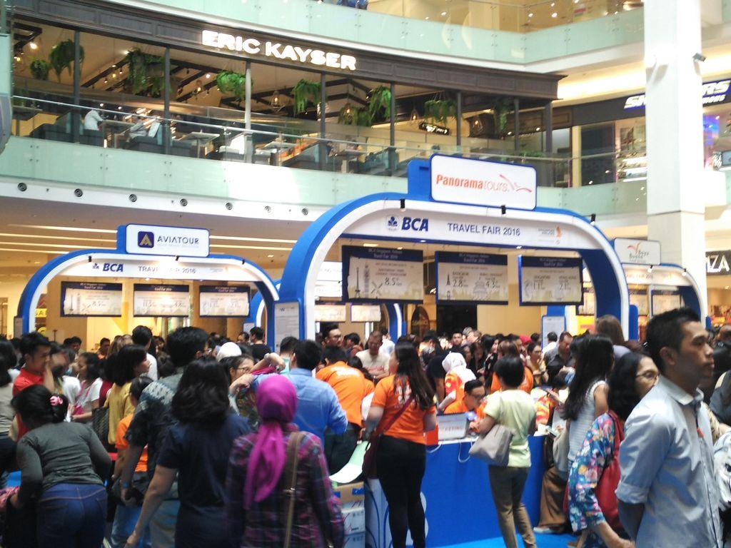 Singapore Airlines BCA Travel Fair Kembali Hadir, Saatnya Liburan!