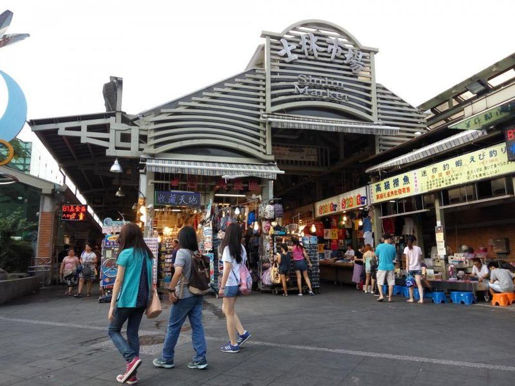 Belanja di Taipei, Shilin Night Market Tempatnya