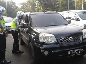 Pelanggar Menyusut, Polda Klaim Ganjil Genap Kurangi Kemacetan Jakarta