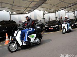 Uji Perilaku Berkendara Motor Listrik, Honda Dukung Pemerintah