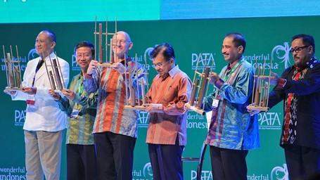 Wapres Jusuf Kalla Buka PATA Travel Mart 2016
