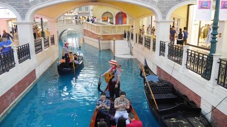 Ketika Kanal Venesia 'Pindah' Ke Dalam Hotel Mewah Di Macau