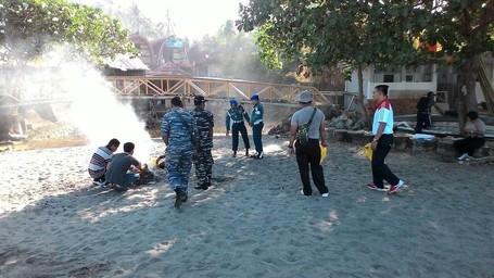 Sebelum Festival Senggigi, Pantai Sempat Dibersihkan Pelajar Hingga TNI